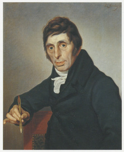 Portret van Abraham van Strij (1753-1826)