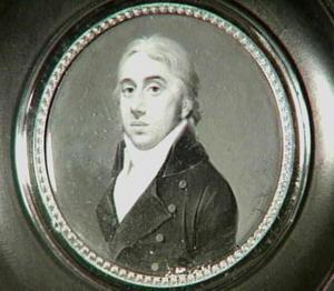 Portretminiatuur van Abraham Willem van der Staal (1772-1821)