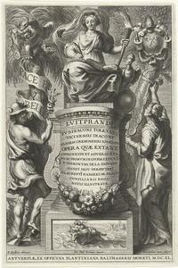 Titelpagina voor Liutprand, Opera, Antwerpen 1640