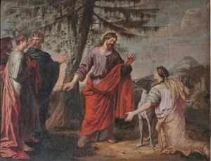 Christus en de Canaänitische vrouw; de gelijkenis van de honden en de broden