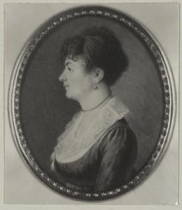 Portret van Anna Maria Horevos ( -1814)