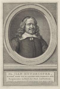 Portret van Joan Huydecoper I (1599-1661)