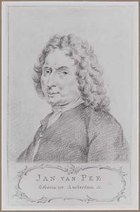 Portret van Jan van Pee (....-1710)
