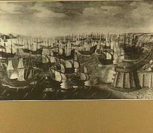 Zeeslag bij Gibraltar op 25 april 1607
