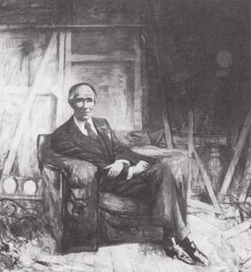 Portret van August Wilhelm Oster (1915-1984)