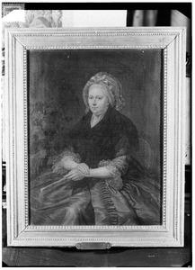 Portret van Antonia Louise de Leeuw (1726-1793)