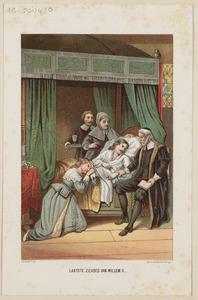 Laatste ziekbed van Willem II