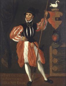 Portret van Barthold Entens van Mentheda