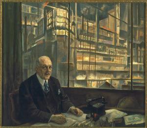 Portret van dr. A.F. Philips (1874-1951)