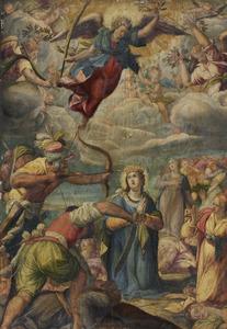 Het martelaarschap van de H. Ursula en haar gezellinnen