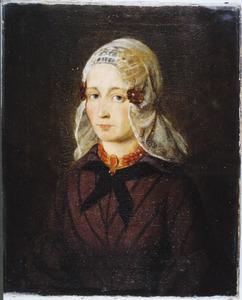 Portret van Marijke Pieters Plantinga (1822-1861)