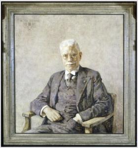 Portret van Pieter Zeeman (1865-1943)