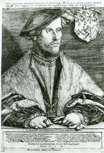 Portret van Wilhelm V, hertog van Gulik, Kleef en Berg (1516-1592)