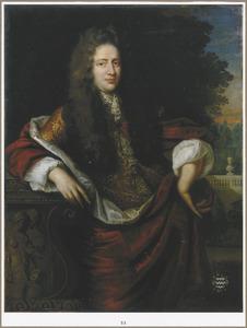 Portret van  Jan van der Haer (1655-1711)