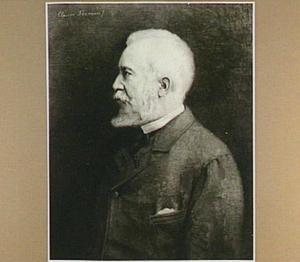 Portret van de schilder Johannes Bosboom