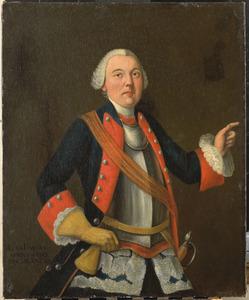 Portret van Hendrik Jan van Rijswijk (1717-1759)