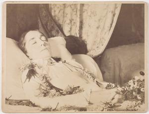 Doodsbedportret van Jacoba Barbara Schuller tot Peursum (1851-1893)