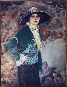Portret van Trudi Körner