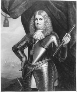Portret van Adriaen Banckert (ca. 1615-1684), vice-admiraal van Zeeland