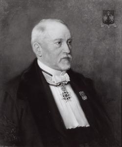 Portret van Johan d' Aulnis de Bourouill (1850-1930)