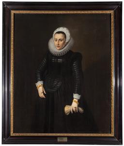 Portret van Barbara de Herlin
