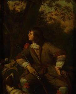 Portret van een jager (zelfportret?)