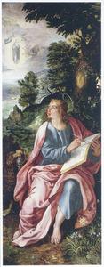De H. Johannes de Evangelist op Patmos
