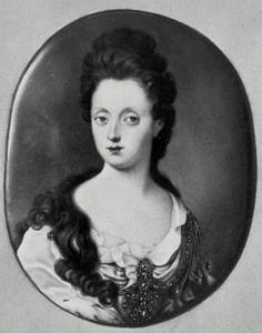 Portret van Anna Maria Luisa de' Medici (1667-1743), keurvorstin van de Palts