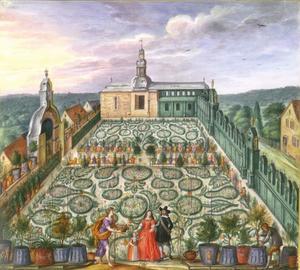 Tuin van Idstein, allegorie van de lente