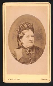 Portret van Jacoba Rijka Tieboel(1822-1887)