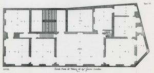 Palazzo Lomellini Patrone: Plan van de hoofdverdieping