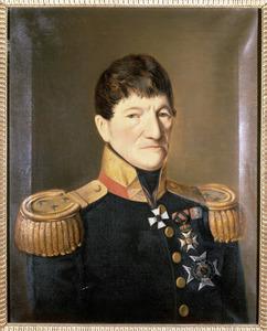 Portret van Willem Cornelis de Virieu (1762-1852)