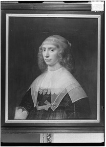 Portret van een onbekende vrouw, mogelijk uit het geslacht Van Bemmel