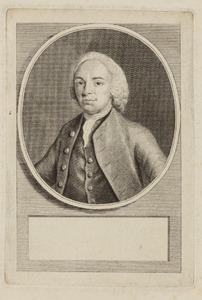 Portret van Cornelis van Hoogeveen (1740-1792)