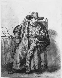 Portret van Cornelis Claesz. Anslo (1592-1646)