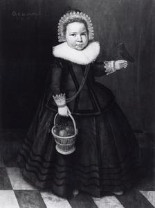 Portret van een jongen van 18 maanden oud
