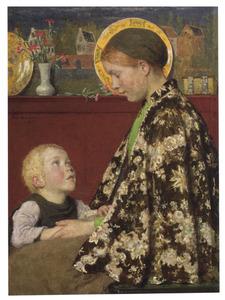 De jonge moeder