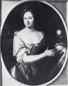 Portret van Johanna Sophia zu Dohna -Lauck-Reichertswalde (1682-1735)