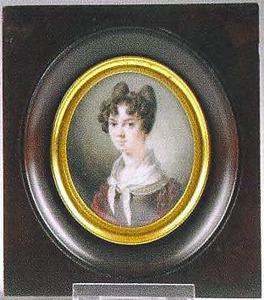 Portret van Agneta Clasina Catharina van Stralen (1804-1871)