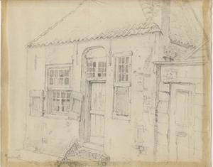 Oud huis in Zandvoort