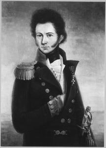 Portret van een marine-officier