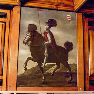 Ridder te paard, lid van het geslacht Van Arkel