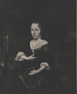 Portret van Deliana Blesius ( -1715)