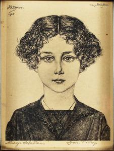 Portret van Miesje Schellens
