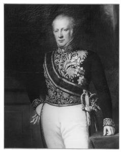 Portret van Floris Adriaan baron van Hall (1791-1866)