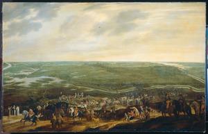 De aftocht van het Spaanse garnizoen na de overgave van 's-Hertogenbosch, 17 september 1629