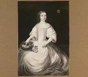 Portret van Cecilia Graswinckel (1654-1694)