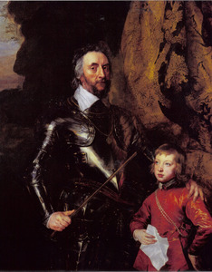 Dubbelportret van Thomas Howard, 21ste Earl of Arundel (1585-1646) met zijn kleinzoon, Thomas Howard,  later 22ste Earl of Arundel and 5de Duke of Norfolk