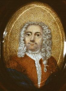 Portret van Steven van Nellesteyn (....-1729)