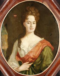 Portret van Catharina van der Woerdt (1631-1681), echtgenote van Everard van Sypesteijn